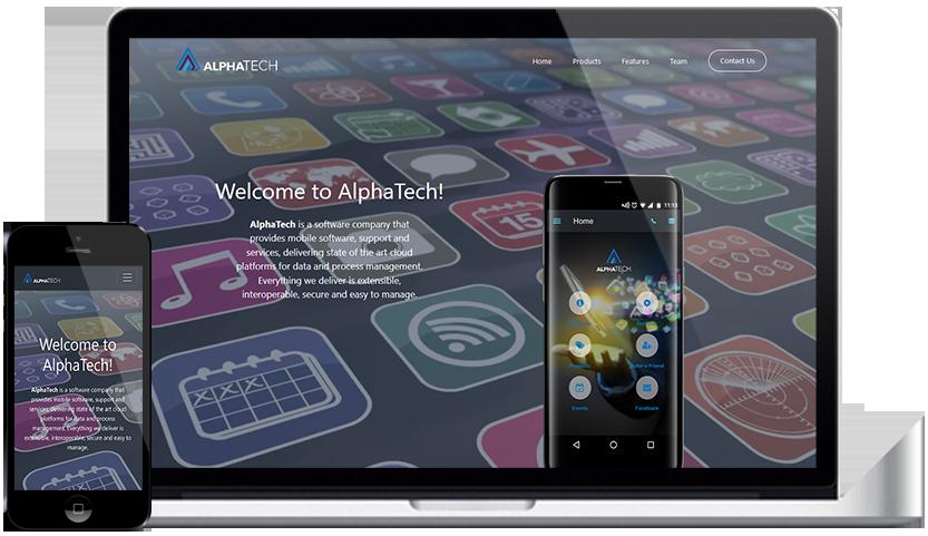 AlphaTech - Responsive Websites