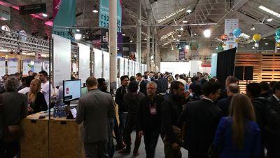 Alphatech at Websummit 2015, inside