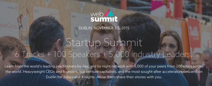 Alphatech arena: Websummit Startup 2015