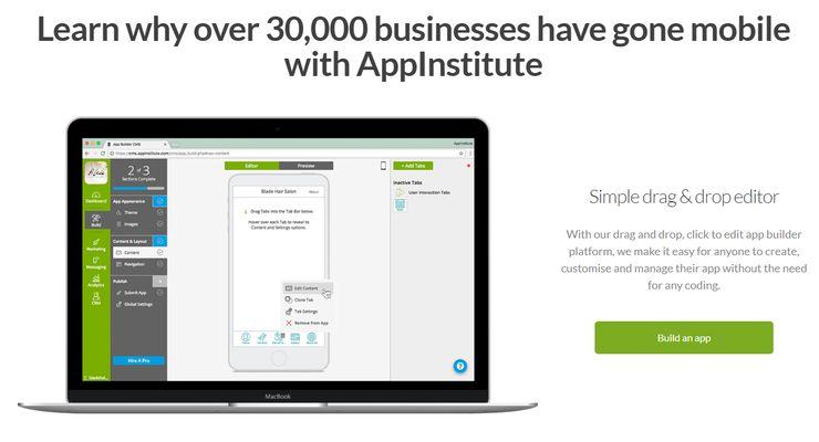 AppInstitute screenshot