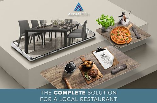 Complete solution for restaurants © AlphaTech