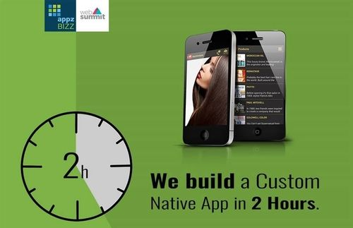Alphatech can equip you with your own custom native app in under 2h