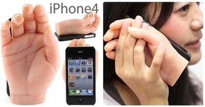 Dokkiri iPhone 4 Hand Case
