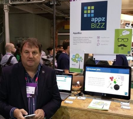 Alphatech at Websummit 2015: Guy Kennet, multi-tasking