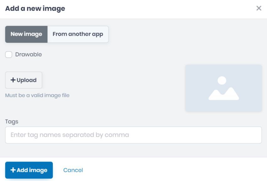 How to Add Images in your App on AlphaApp Platform