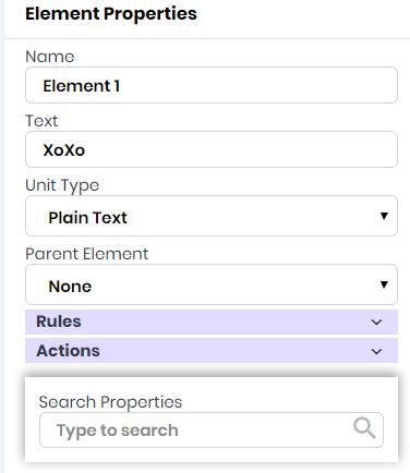 Elements - Dev Studio AlphaApp Platform