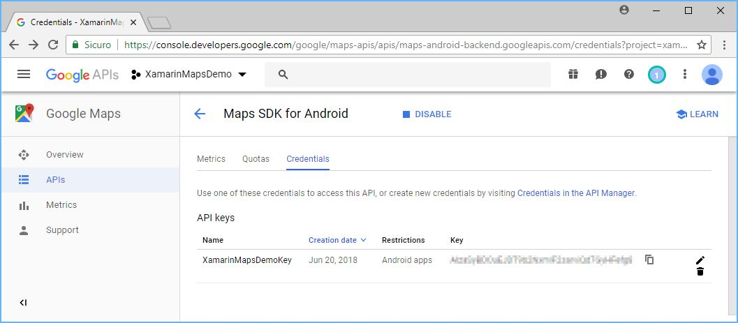 How to obtain a Google Maps API Key