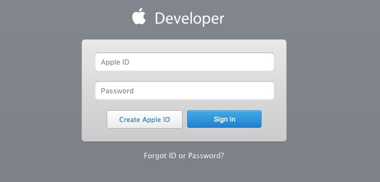 Creating an iOS Developer Account - Step 1