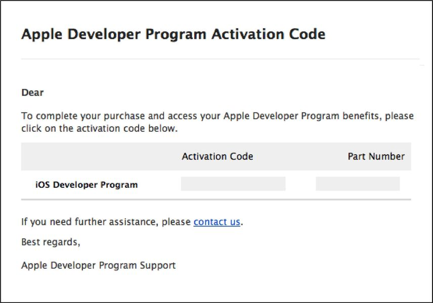 Creating an iOS Developer Account - Step 8