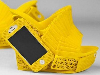 iPhone Mashup Shoe, designed by Alan Nguyen