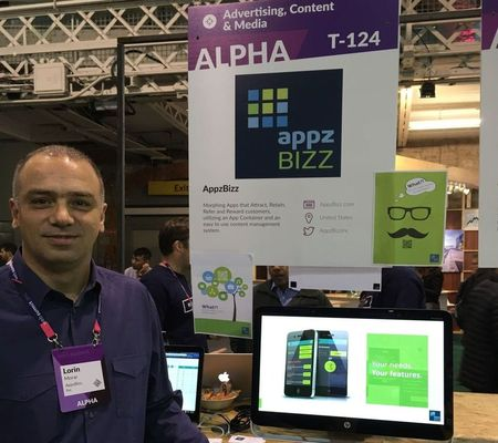 Alphatech at Websummit 2015: Lorin Morar ready to answer any technical questions