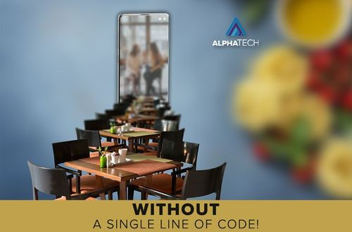 Mobile applications without a single line of code © AlphaTech