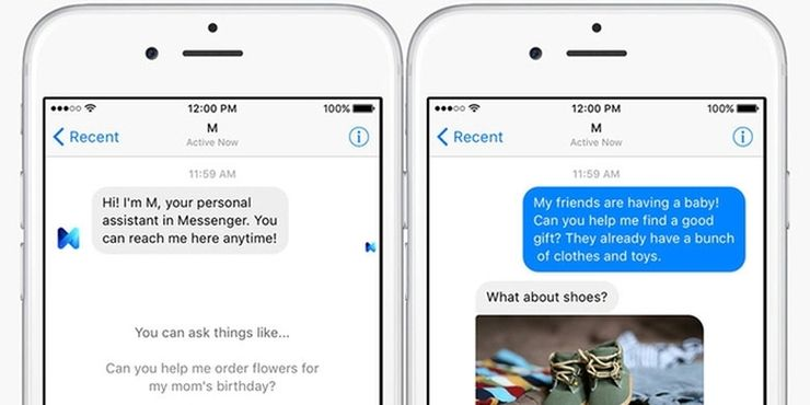 Facebook M - the personal assistant you can reach anytime