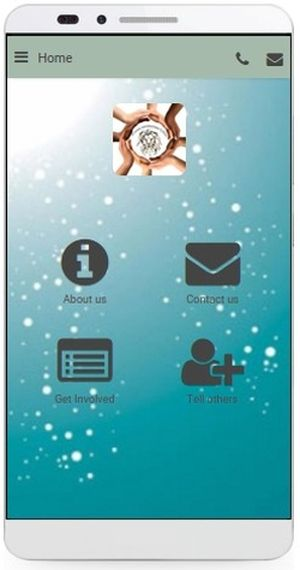 Lyone Foundation App, Homepage