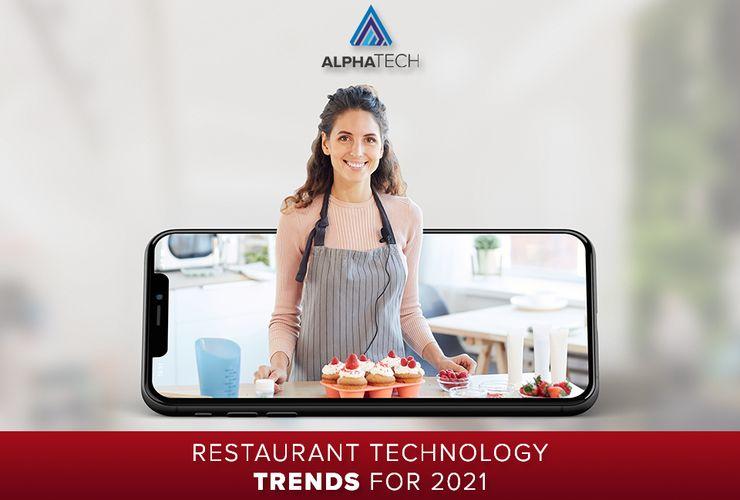 Restaurant Technology Trends for 2021