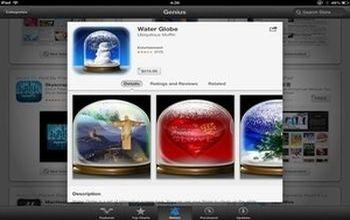 The Water Globe app